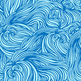 Abstract pattern, waves background Royalty Free Stock Photography