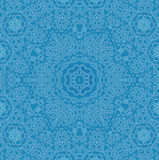 Abstract pattern. Abstract white pattern on blue background Royalty Free Stock Images