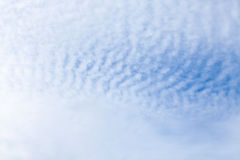 Abstract pattern white Clouds on the sky. Royalty Free Stock Photos