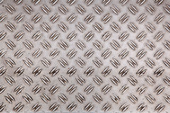 Abstract pattern of worn aluminium plate Stock Images