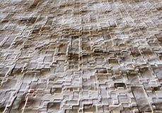 Abstract patterned background. Abstract background in neutral colors with jigsaw patterned effect Royalty Free Stock Photography