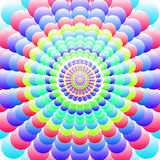 Abstract patterned bright colorful background Royalty Free Stock Photography