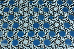Abstract patterned wall Royalty Free Stock Photo