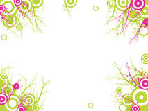 Abstract patterns. Abstract images consisting of patterns, lines, blots, flowers, leaves and other parts of Stock Images