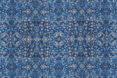 Abstract patterns based on Finely woven silk carpets Royalty Free Stock Images