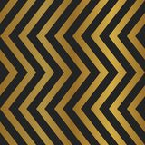 Abstract patterns with chevron gold color seamless background. Seamless art deco chevron herringbone gold color pattern background. Creative scandinavian Royalty Free Stock Photos