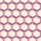 Abstract patterns from colorful hexagons. Seamless geometric abstract patterns from colorful hexagons. Retro colors. Fashion geometrical pattern. For fashion Stock Photography