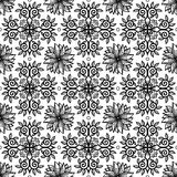 Abstract patterns Cross doodles Royalty Free Stock Images