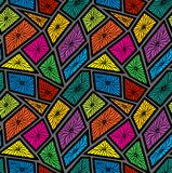 Abstract patterns seamless color doodle Sketch