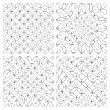 Abstract patterns set. Stock Image