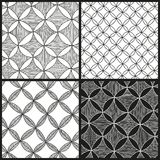 Abstract patterns set Royalty Free Stock Image