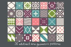 Abstract Patterns Royalty Free Stock Photos