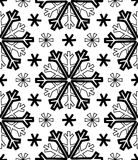 Abstract patterns snowflakes Stock Photography