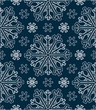 Abstract patterns snowflakes color Stock Images