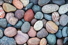 Abstract pebble stones background Royalty Free Stock Images