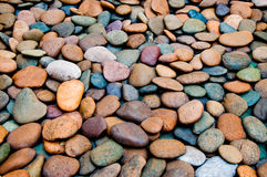 The Abstract of pebble texture Stock Photos