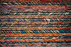 Abstract pebbles mosaic Royalty Free Stock Photo