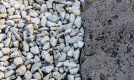 Abstract of pebbles and stone royalty free stock photos
