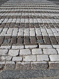 Abstract pedestrian stone road, safety details, Stock Images