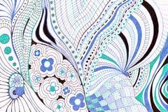Abstract pencil drawing Royalty Free Stock Image