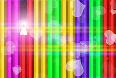 Abstract colorful pencils Royalty Free Stock Images