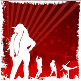 Abstract people background  Royalty Free Stock Image
