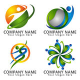 Abstract People Logo Modern Concept Royalty Free Stock Photos
