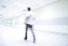 Abstract of people walking Royalty Free Stock Images