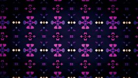 Abstract perforated design wallpaper Stock Photography
