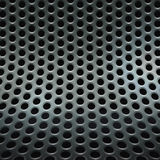 Abstract perforated mesh background. Abstract perforated steel panel background Royalty Free Stock Photos