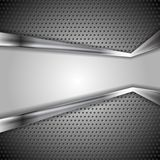 Abstract perforated metal background Royalty Free Stock Images
