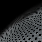 Abstract perforated metallic background Royalty Free Stock Image