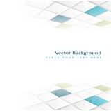 Abstract perspective background with square tiles. Design element Royalty Free Stock Image