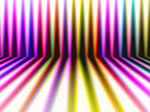 Abstract perspective colorful stripes background Stock Images