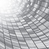 Abstract perspective tunnel background. Royalty Free Stock Photography