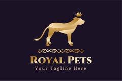Abstract pet dog logo concept Stock Photography
