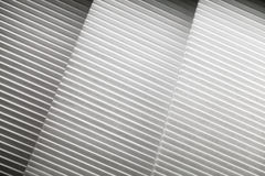 Abstract photo background with white louvers Stock Photo