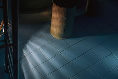 Abstract photo inside pool Stock Image