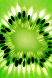 Abstract photo of a kiwi Stock Photos