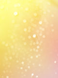 Abstract photo of light burst raindrops and glitter bokeh lights background. Royalty Free Stock Photo