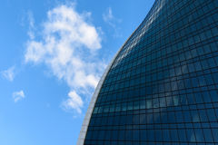 Abstract photo of a modern glass building Royalty Free Stock Image
