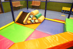Abstract photograph featuring childrens play equipment Royalty Free Stock Photography