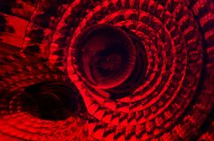 Abstract photography with texture and perspective full color red stock photos