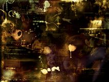 Abstract photomontage background graphic Stock Image