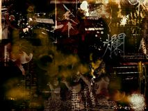 Abstract photomontage background graphic Stock Images