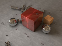 Abstract physical render stock photos