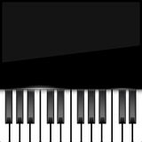 Abstract piano background Royalty Free Stock Image