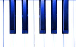 Abstract Piano Keys Stock Photo
