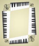 Abstract pianobroodje Royalty-vrije Stock Afbeelding