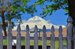 Abstract picket fence Royalty Free Stock Images